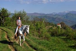 up on the hill, North Balkan Mountain region, Bulgaria