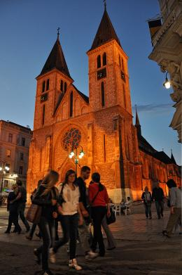 Sacred Heart Cathedral, Sarajevo, Bosnia and Herzegovina
