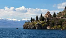 St. John Kaneo Church, Ohrid, Macedonia