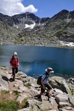 Trekking in the Pirin Mountains