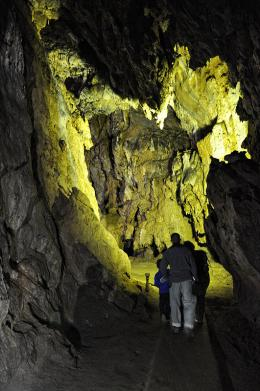 Yagodina cave Rodopi Mountains Bulgaria