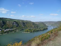 Rhinegau & Middle-Rhine valley selfguided walk (Germany)