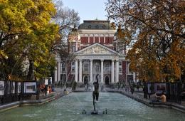 Ivan Vazov National Theatre, Sofia, Bulgaria